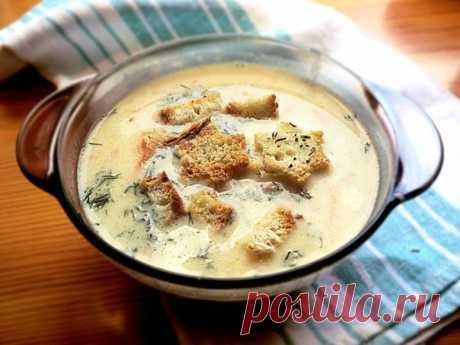 Сырный суп. Обязательно попробуйте! — Планета и человек