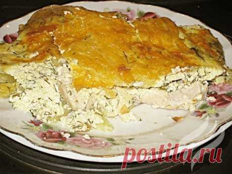 Как приготовить картофельная запеканка с курицей. - рецепт, ингредиенты и фотографии