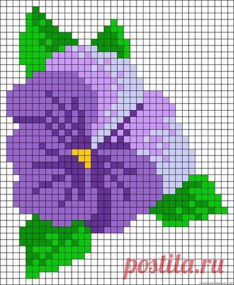 Вышиваем с детьми цветочки