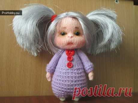 Малышка спицами / Вязание игрушек / ProHobby.su | Вязание игрушек спицами и крючком для начинающих, мастер классы, схемы вязания