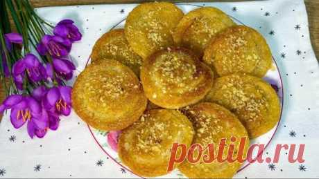 САМЫЙ Любимый рецепт ДЕСЕРТА в Турции! Проще простого ЖАРЕНЫЕ ПОНЧИКИ в лимонном сиропе.