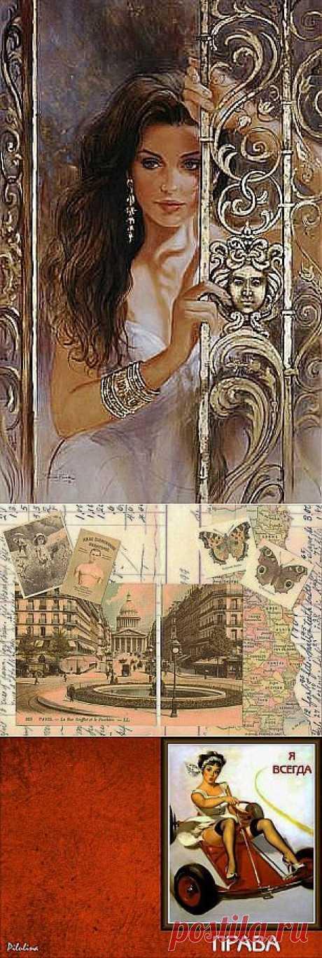 Картинки на обложки документов / Картинки для декупажа / PassionForum - мастер-классы по рукоделию