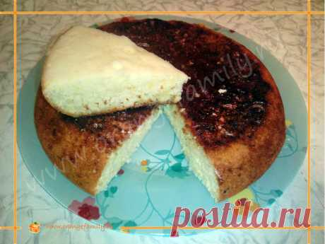 Рецепт лимонного бисквита в мультиварке-скороварке Brand 6050 | Orangefamily.ru