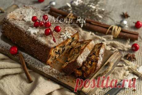 Рождественский дрезденский кекс.