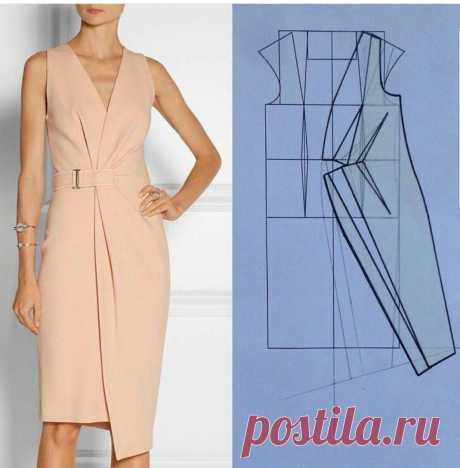 Моделирование красивых платьев — Сделай сам, идеи для творчества - DIY Ideas