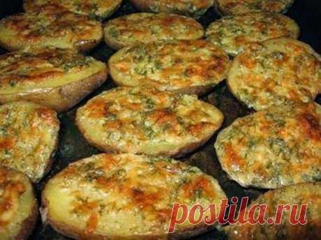 Кулинарные Рецепты: Чесночная картошка