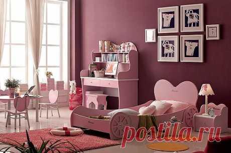 Как сделать комнату девочки, спальню, игровую зону и рабочую максимально комфортной, при этом воплотив девичьи мечты? Выбрать мебель не простую, а волшебную.