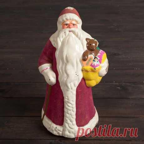 Как сделать Деда мороза из папье-маше?