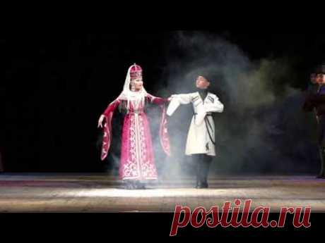Кабардинский танец - Хореографический ансамбль Вдохновение