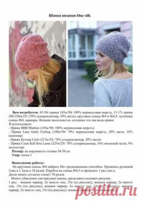 Вдогонку к предыдущему посту и его фотосессии) как и обещала выкладываю МК шапочки с кид-мохером и мериносом     Она классная, стильная, ...