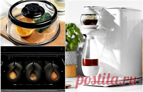 15 практичных приспособлений, без которых никуда на современной кухне  Многие современные хозяйки с трудом представляют себе процесс приготовления блюд на кухне, где нет множества любимых приспособлений. Благодаря им ежедневная обязанность превращается практически в...