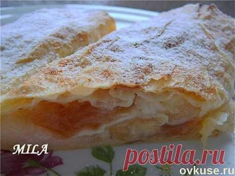 """Быстрый """"штрудель"""" (из лаваша) - Простые рецепты Овкусе.ру"""