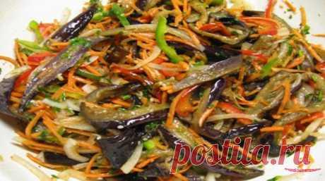 Вкусные баклажаны по-корейски - вкуснее еще в жизни не ела!
