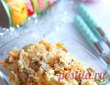 "Салат ""Модница"" – кулинарный рецепт"