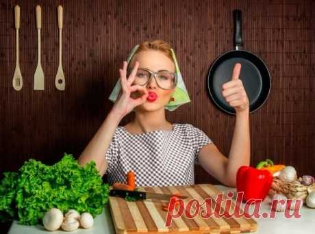 16 кулинарных секретов идеальных домохозяек - полезные советы