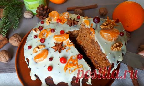 Невероятно вкусный апельсиновый Рождественский кекс — Калейдоскоп событий