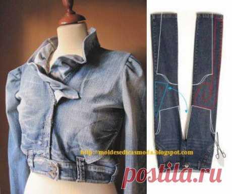 Очередная порция идей по переделке одежды | Варварушка-Рукодельница