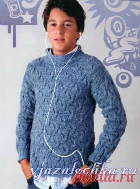 Поиск на Постиле: вязание спицами свитера для мальчика