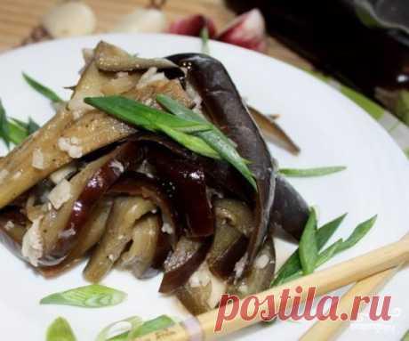 Маринованные баклажаны быстрого приготовления - пошаговый рецепт с фото на Повар.ру