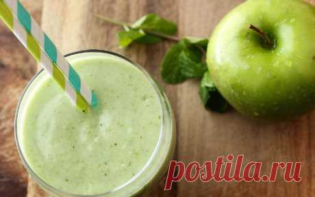 Яблочный смузи: и голод утолит, и похудеть поможет