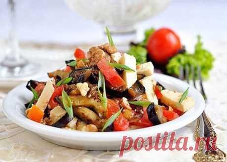Салат из баклажанов — Sloosh – кулинарные рецепты