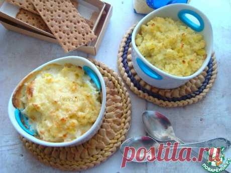 Картофельник с пшеном Кулинарный рецепт