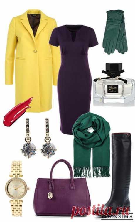Строгий и яркий образ. #looksimaFashion #style #instalook #lookoftheday #модныйобраз #стиль