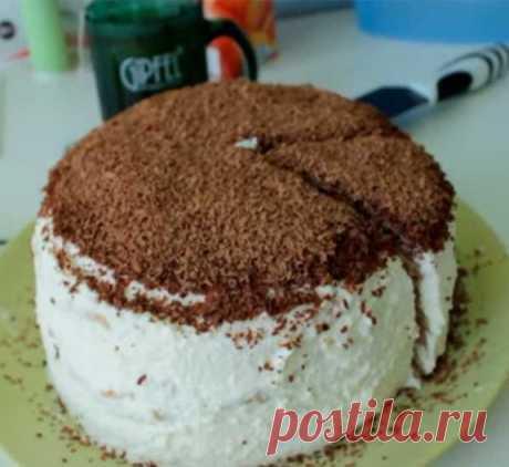 Блинный торт со сметанным кремом и сгущенкой — рецепт с фото