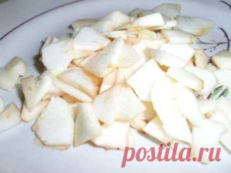 Яблочный пирог «Царский». Рецепт. Фото