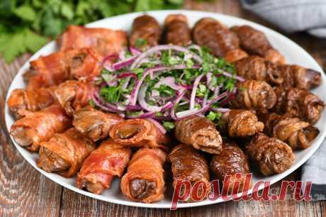 Закуска из куриной печени, чтобы удивить своих гостей (рецепт с фото)   Совет да Еда   Яндекс Дзен