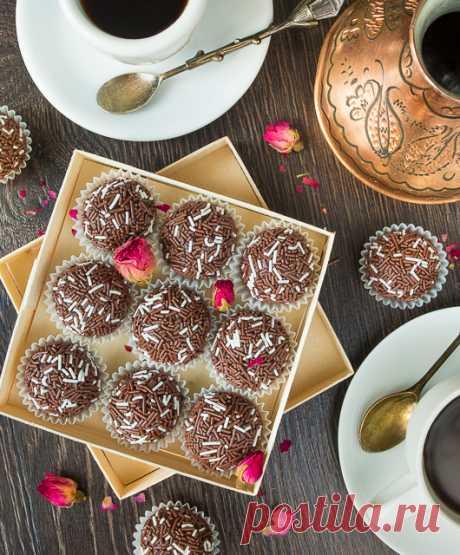 Бригадейро - домашние бразильские конфеты | Вкусный блог - рецепты под настроение