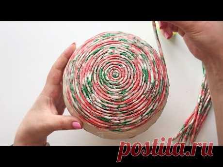 DIY Простая идея из бумаги | Шкатулка из бумаги