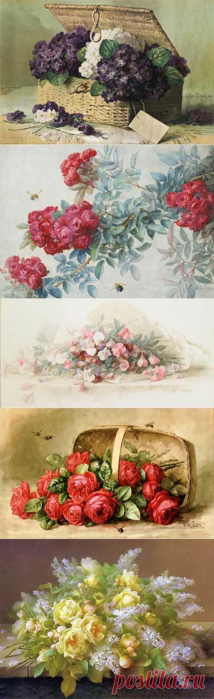 Художники Paul и Raoul de Longpre.