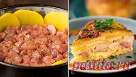 Картофельная запеканка в духовке - быстро, вкусно и сытно!   Appetitno.TV