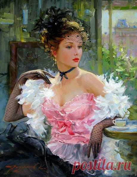 «Шикарная женщина!» — шепчут мужчины…и смотрят ей вслед... .