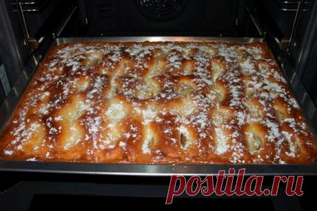 Гениальная выпечка - ПИРОГ С ЯБЛОКАМИ, как пирожное! Очень вкусно и просто!