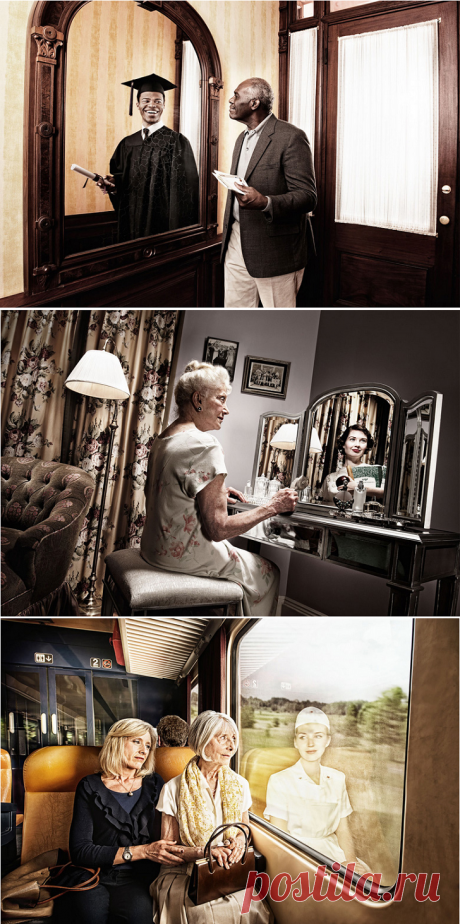 Отражение прошлого в фотопроекте Тома Хасси • НОВОСТИ В ФОТОГРАФИЯХ