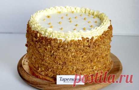 Торт Винни Пух рецепт от Тарелкиной