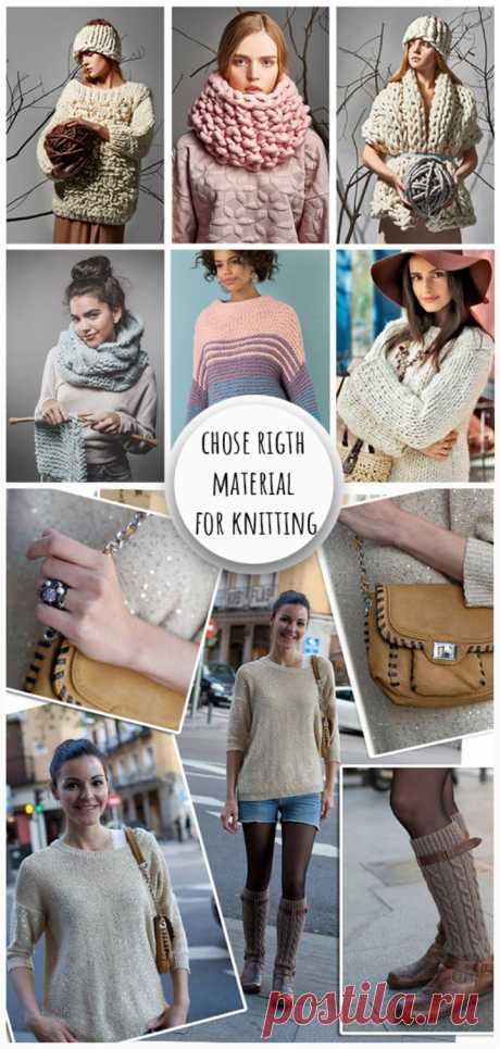 Chose Right Material for Knitting