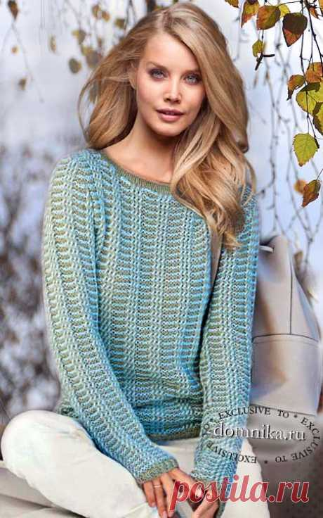 10 женских моделей на осень - свитера и пуловеры спицами для женщин
