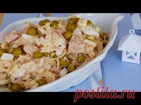 Просто, но очень вкусно!!! Салат «Дальневосточный» Рецепты салатов.