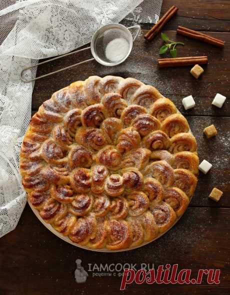Пирог с корицей и сахаром — рецепт с фото на Русском, шаг за шагом. Ароматный пирог с корицей и сахаром по этому рецепту получается аппетитным и праздничным, а приготовить его не так уж и сложно. #рецепт #пирог #выпечка #кчаю #чаепитие #рецепты