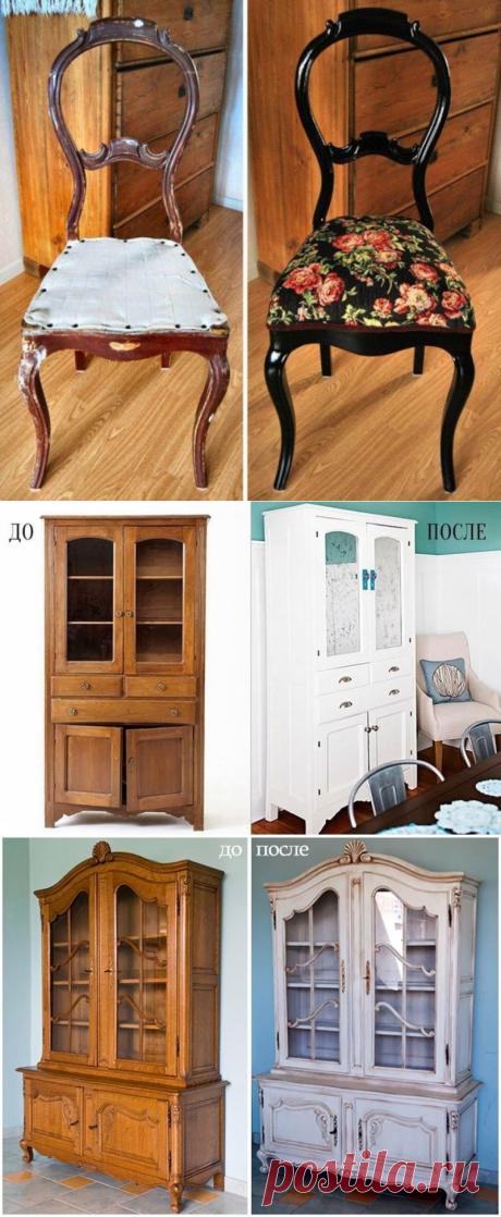 8 вдохновляющих примеров переделки старой советской мебели — Сделай сам, идеи для творчества - DIY Ideas