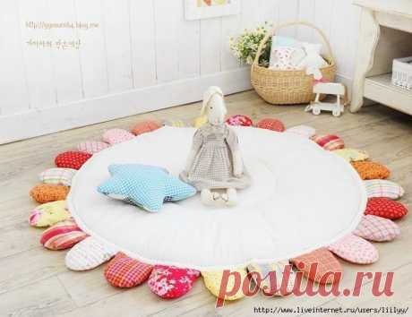 Шьем коврик в детскую (Шитье и крой) — Журнал Вдохновение Рукодельницы