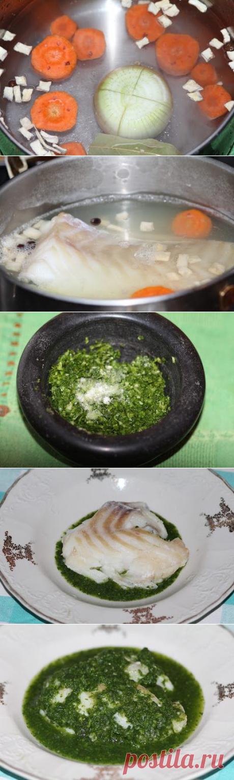 Рыба в соусе «Киндзмари»