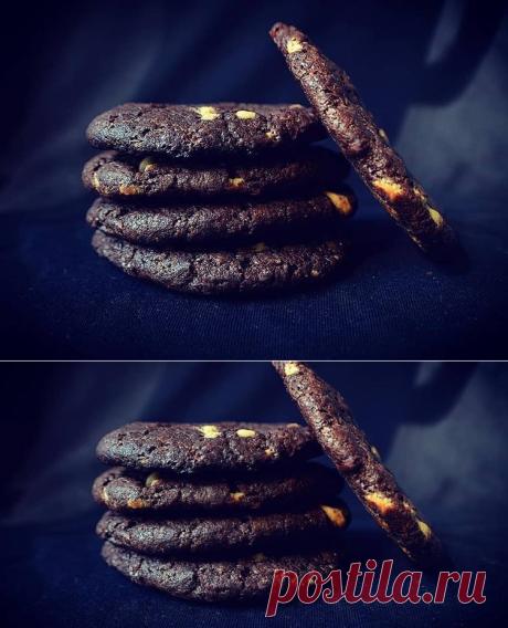 Шоколадное печенье Автор рецепта Марина - Cookpad Российская Федерация