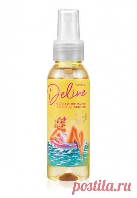 Очищающее масло после депиляции «Орхидея и масло мурумуру» Deline 2576 купить по цене 1127 KZT — интернет-магазин Faberlic