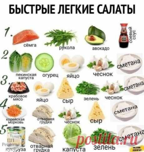 Экономь время и питайся вкусно Сметанку можно заменить йогуртом!  |Рецепты ПП|