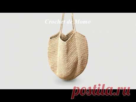 [코바늘 가방] 망태기 가방뜨기 Crochet granny square bag