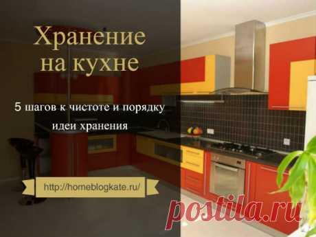 Организация хранения на кухне: идеи и рекомендации